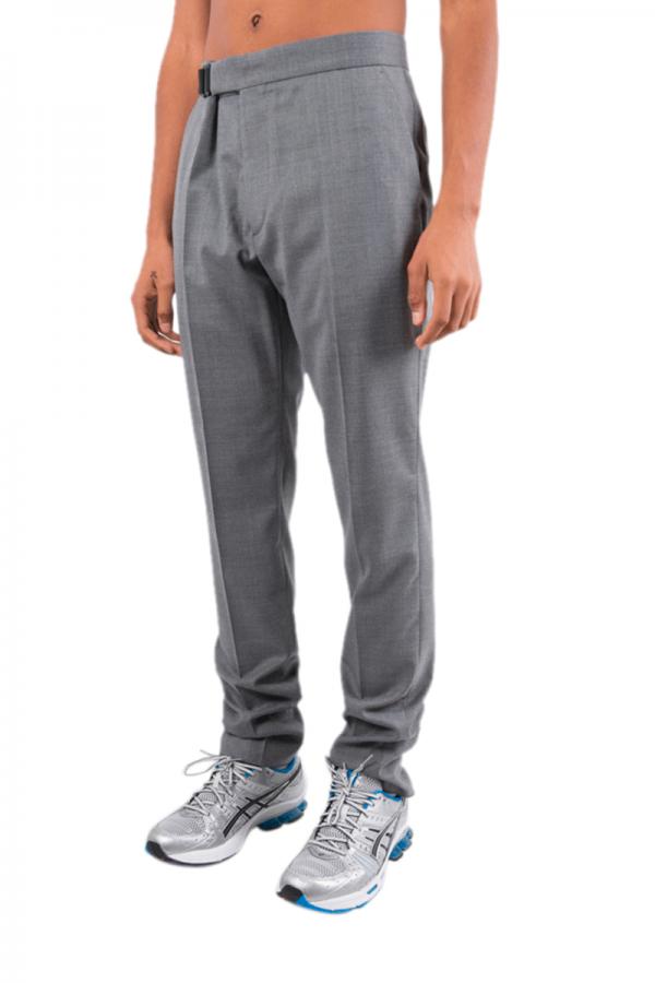 Grey strap pant 59M