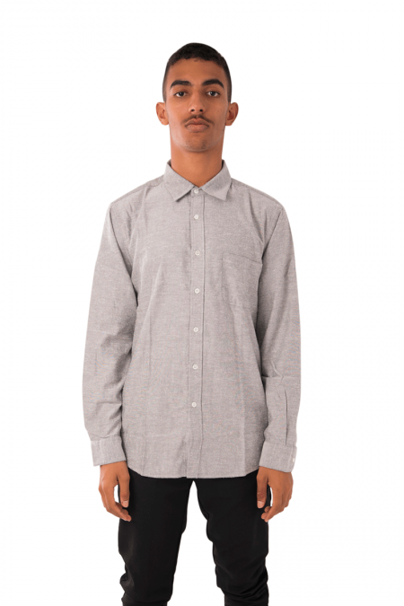 Chemise smooth sable