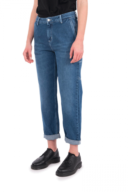 Blue pierce pant