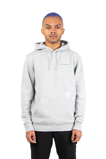 Hooded signature gris