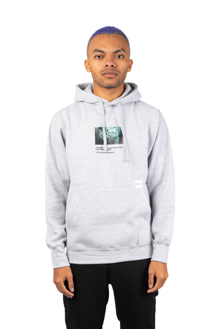 Grey article hooded
