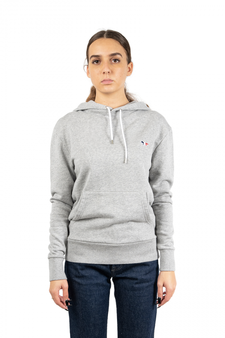 Hooded renard tricolore gris