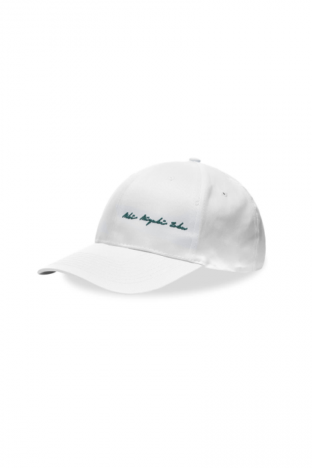 White signature cap