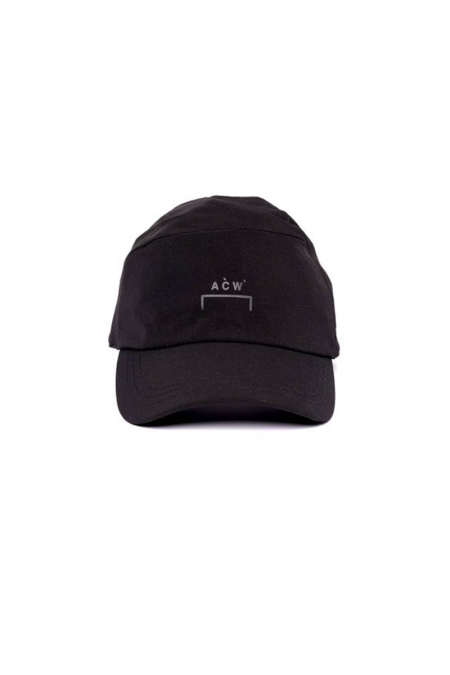 Black technical cap