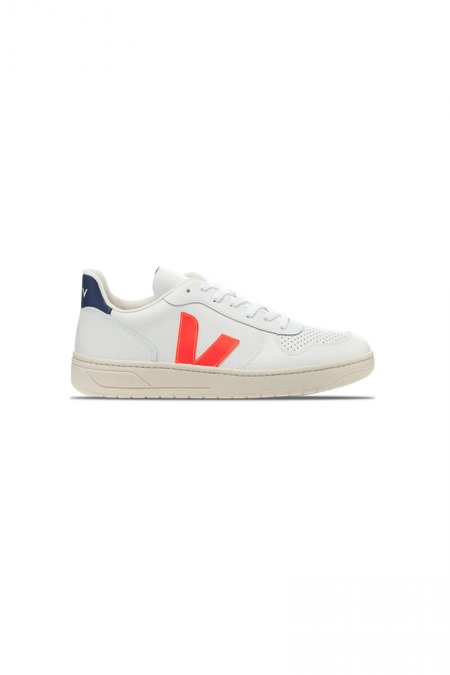 V-10 white-orange fluo-cobalt