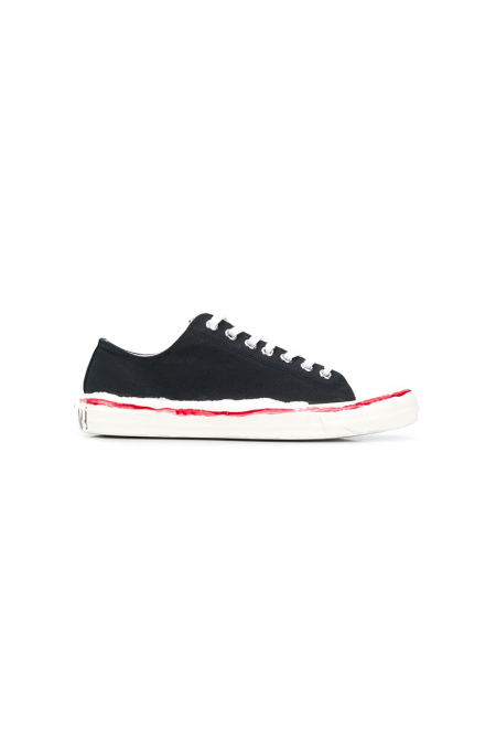 Black marni gooey sneakers