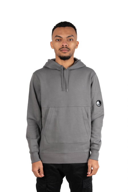 Hooded patch gris