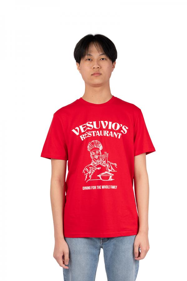 Red restaurant vesuvio's...