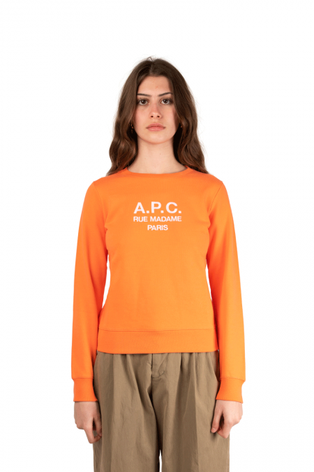 Tina crewneck orange