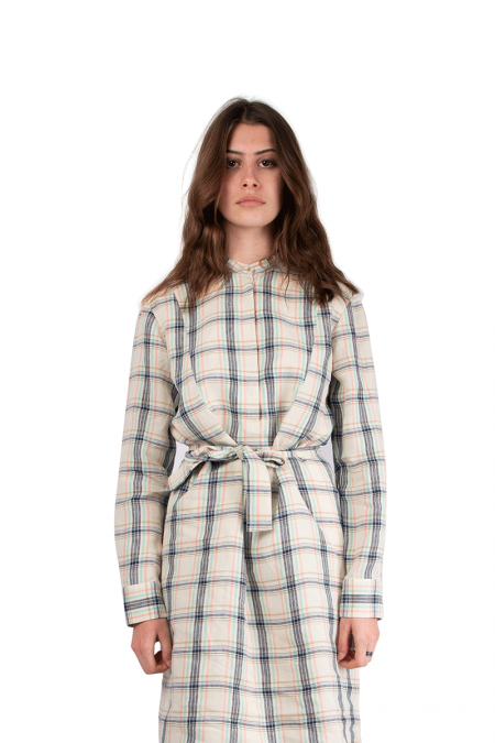 Raquel dress plaid