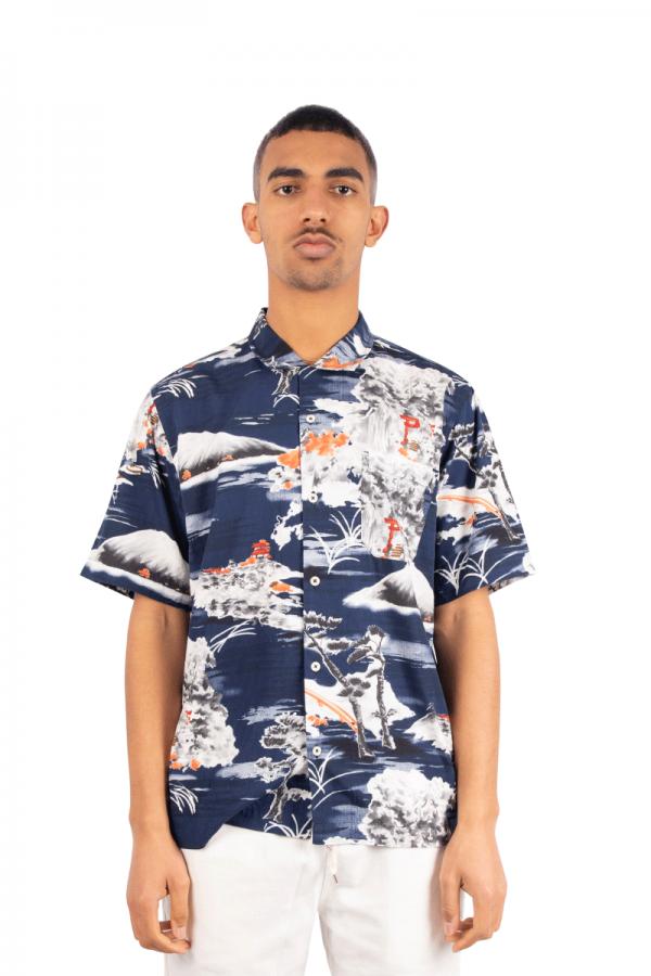 Navy road shirt