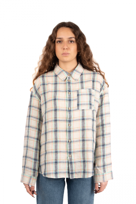 Boyfriend shirt plaid