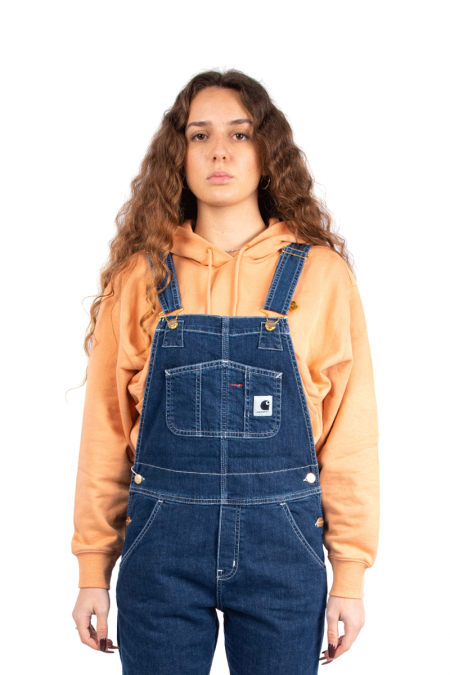 Washed overalls