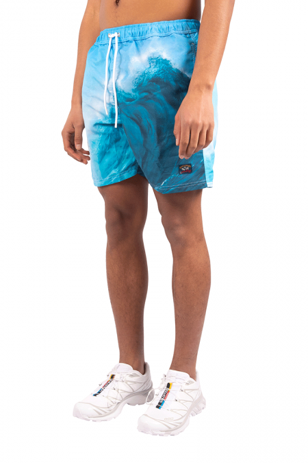 Blue wave swimshort