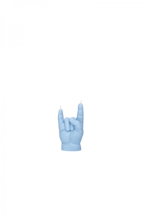 """Bougie bébé """"you rock"""" bleu"""