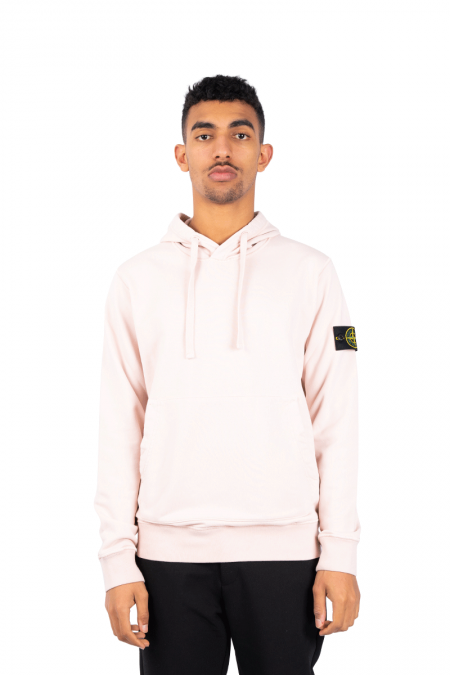 Hooded patch pale pink