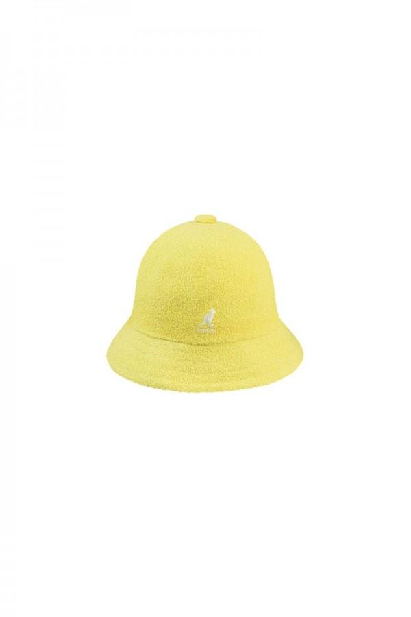 Bermuda décontracté jaune...