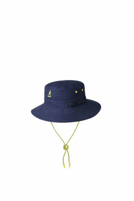 Navy utility cords jungle hat