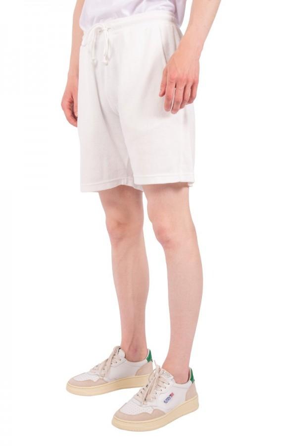 Short terry fleece écru