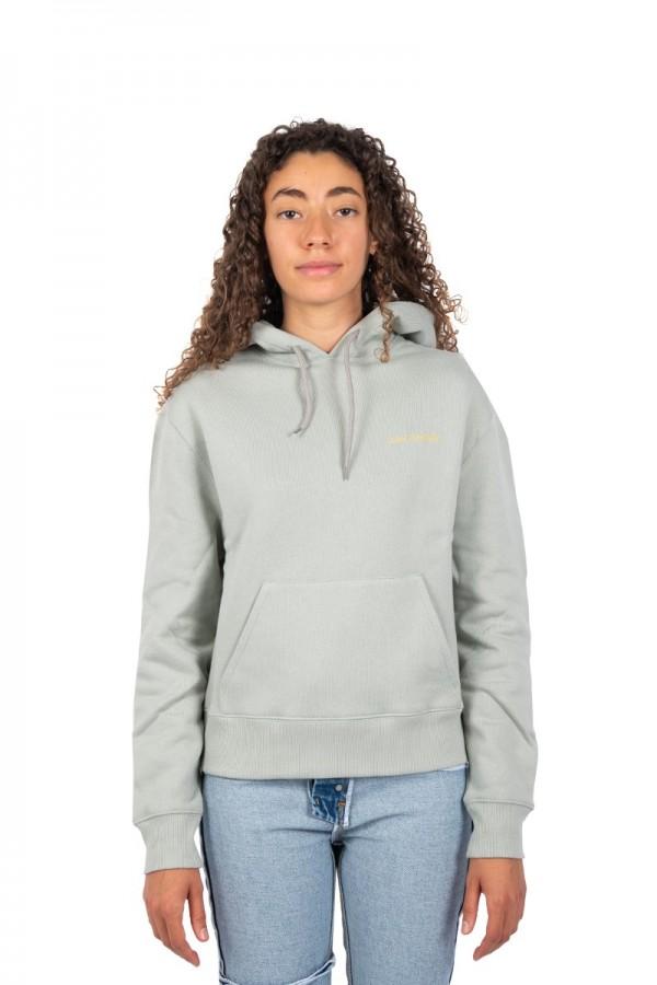 Hooded trademark vert