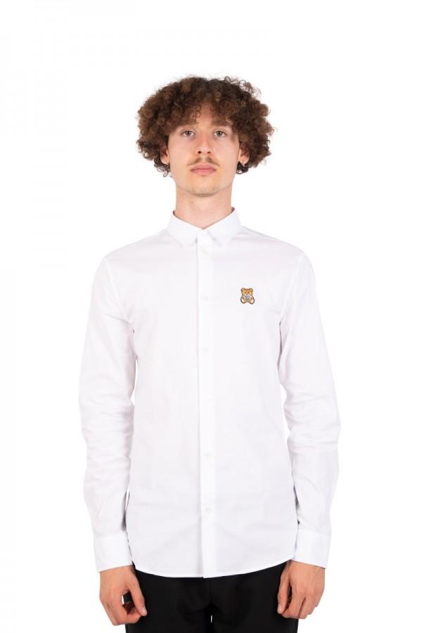 White teddy bear shirt
