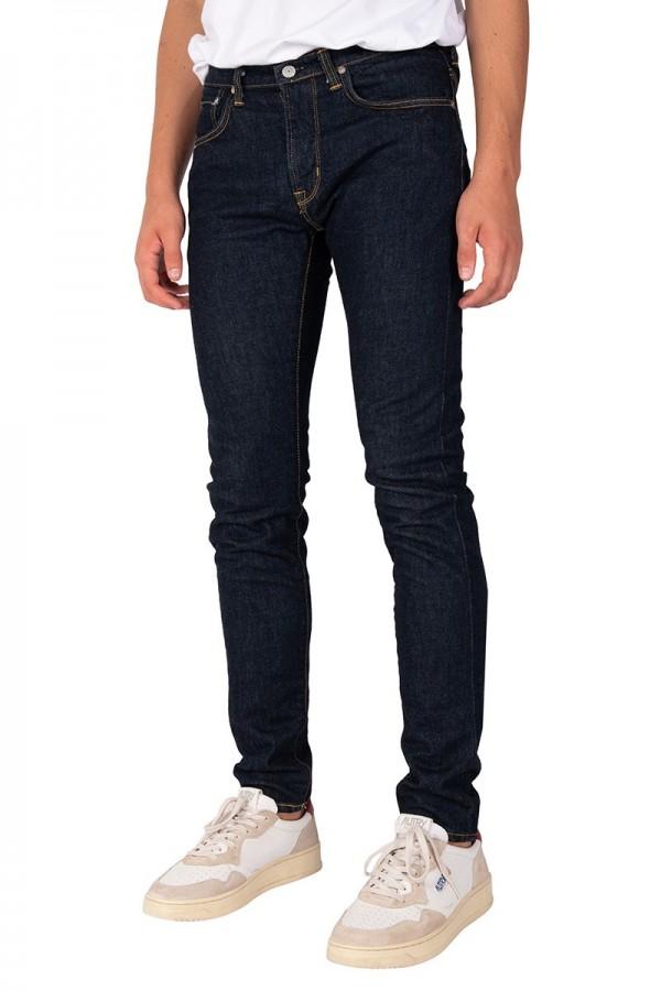 Jean slim tapered kaihara bleu
