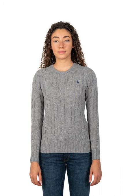 Maille julianna col rond gris
