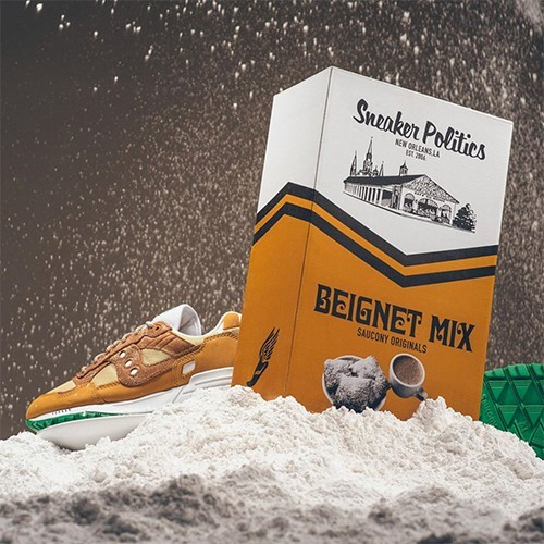 Saucony Shadow 5000 x Cafe du Monde x Politics