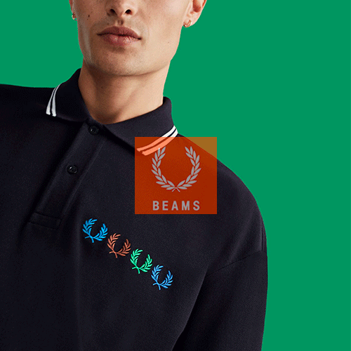 Fred Perry X Beams